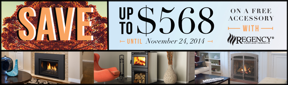 Save up to $568 on a free accessory with Regency