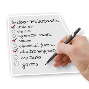 Clean your air conditioner and avoid indoor pollutants